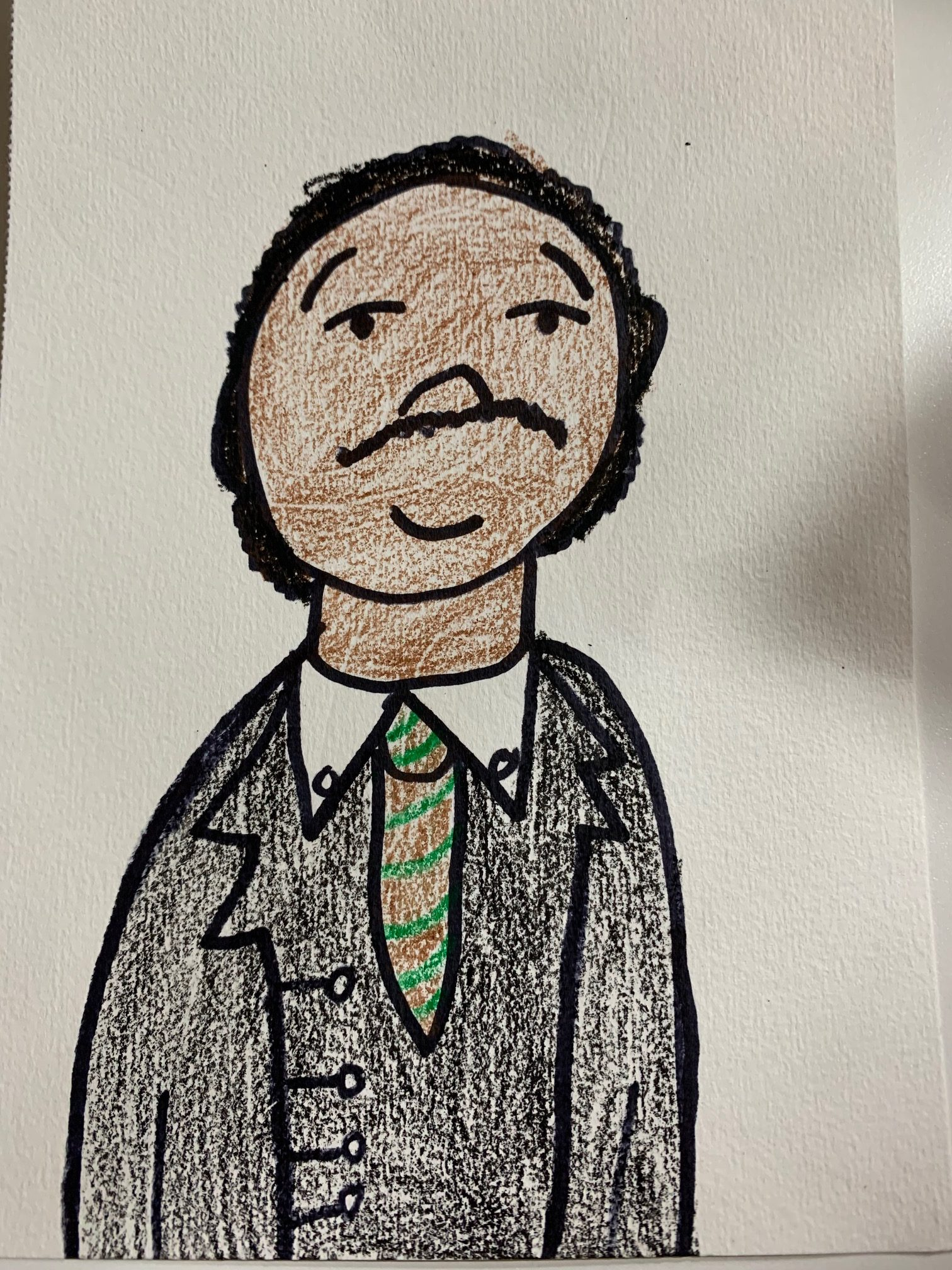SEA Lana M 9 Martin Luther King Jr. Colored Pencil