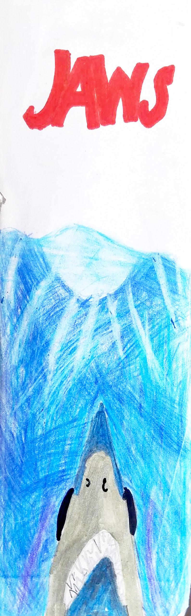 VIR Urijah V 10 Jaws colored pencil